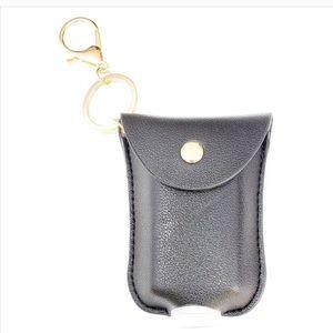 Mini hand sanitizer holder/keychain 👏🧼😷